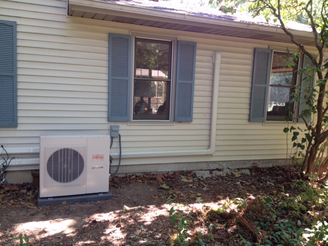 <p>Fujitsu Duct Free Air Conditioning Installation</p>